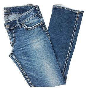 Silver Plus Size Mckenzie Slim Bootcut Jeans